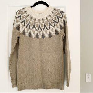 NWT Ann Taylor Fair Isle Sweater